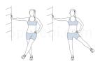 Lateral leg swing